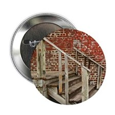 "Wooden Stairs 2.25"" Button"