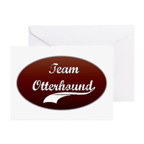 Team Otterhound Greeting Cards (Pk of 10)