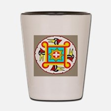 SOUTHEAST INDIAN DESIGN Shot Glass