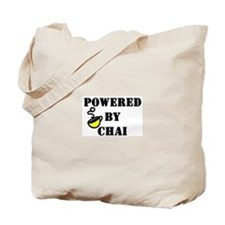 Powered by Chai: Tote Bag