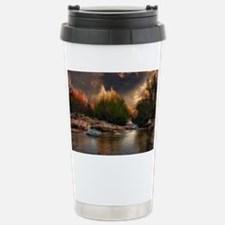 sunset poll Travel Mug