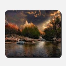 sunset poll Mousepad
