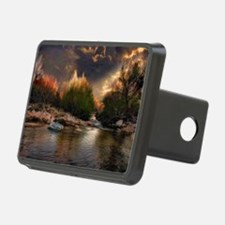 sunset poll Hitch Cover