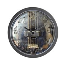 National Steel resonator Wall Clock