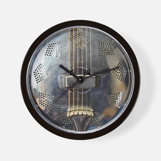 National Steel resonator Wall Clock