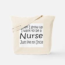 WIGU Nurse Uncle Tote Bag