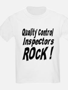 QC Inspectors Rock ! Kids T-Shirt