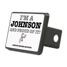 IM A JOHNSON - AND PROUD O Hitch Cover