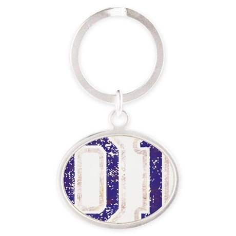 General Lee Oval Keychain
