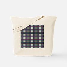 Earthy Plaid Tote Bag