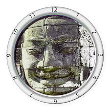 Bayon Buddha Round Car Magnet