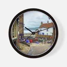 Robin Hoods Bay Wall Clock