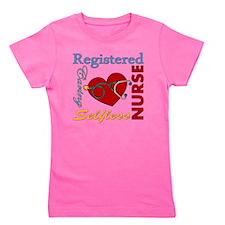 Registered Nurse Girl's Tee