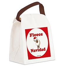 FleeceNewHex-a Canvas Lunch Bag