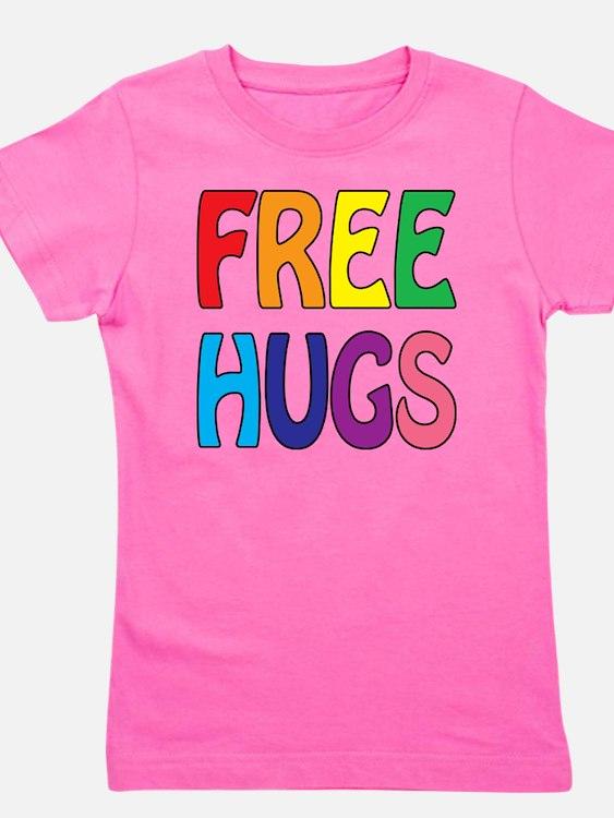 Free Hugs Girl's Tee