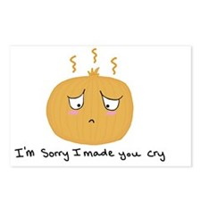 Sad onion Postcards (Package of 8)