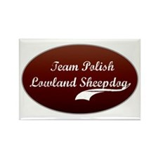 Team Sheepdog Rectangle Magnet (10 pack)