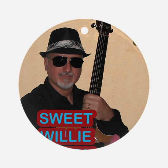 Sweet Willie Milton Poster Round Ornament