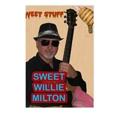 Sweet Willie Milton Poste Postcards (Package of 8)