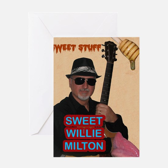 Sweet Willie Milton Poster Greeting Card