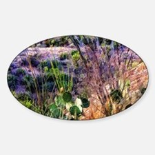 desert Sticker (Oval)