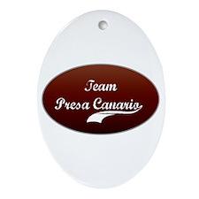 Team Presa Oval Ornament