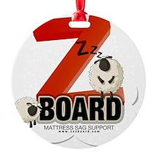 Zzz Board Ornament