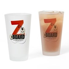 Zzz Board Drinking Glass