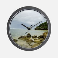 Typhoon coming, Okinawa, Japan Wall Clock