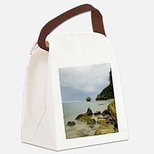 Typhoon coming, Okinawa, Japan Canvas Lunch Bag