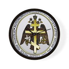 American TOC Metropolia logo Wall Clock