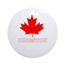 Funny Canuck Ornament (Round)