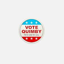 Vote Quimby Mini Button