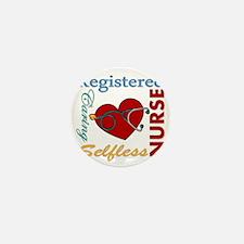 Registered Nurse Mini Button