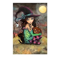 Halloween Hill Postcards (Package of 8)