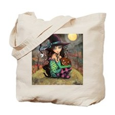 Halloween Hill Tote Bag