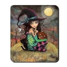 Halloween Hill Mousepad