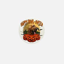 Happy Halloween Bloodhound Mini Button