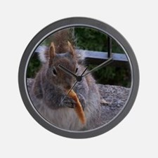 Cheetos for the squirrel  Wall Clock