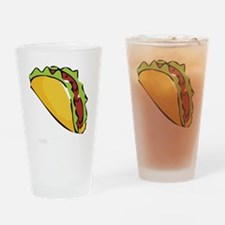 The Vadge Taco Drinking Glass