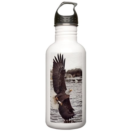 Striking Eagle Stainless Water Bottle 1.0L