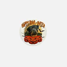 Happy Halloween Rottweiler2 Mini Button