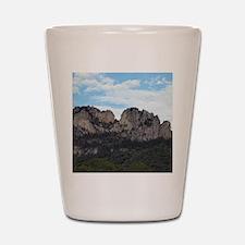 Seneca Rocks Shot Glass