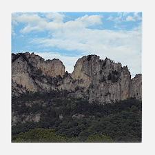 Seneca Rocks Tile Coaster