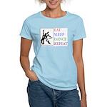 Eat Sleep Dance Repeat Women's Light T-Shirt