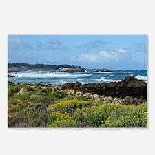 Monterey Coastal Blooms Postcards (Package of 8)