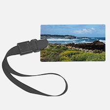 Monterey Coastal Blooms Luggage Tag
