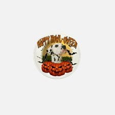 Happy Halloween Dalmation Mini Button