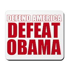 defeat obama Mousepad