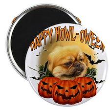 Happy Halloween Pekingnese Magnet